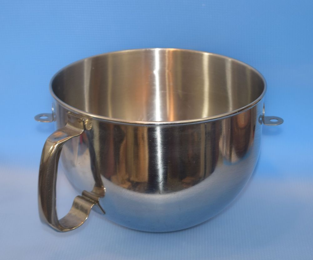 Kitchenaid 6 qt polished stainless steel bowl for lift