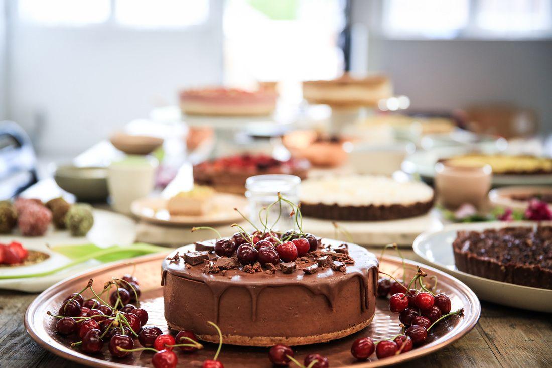 Raw Kitchen Food, Food hub, Healthy cake