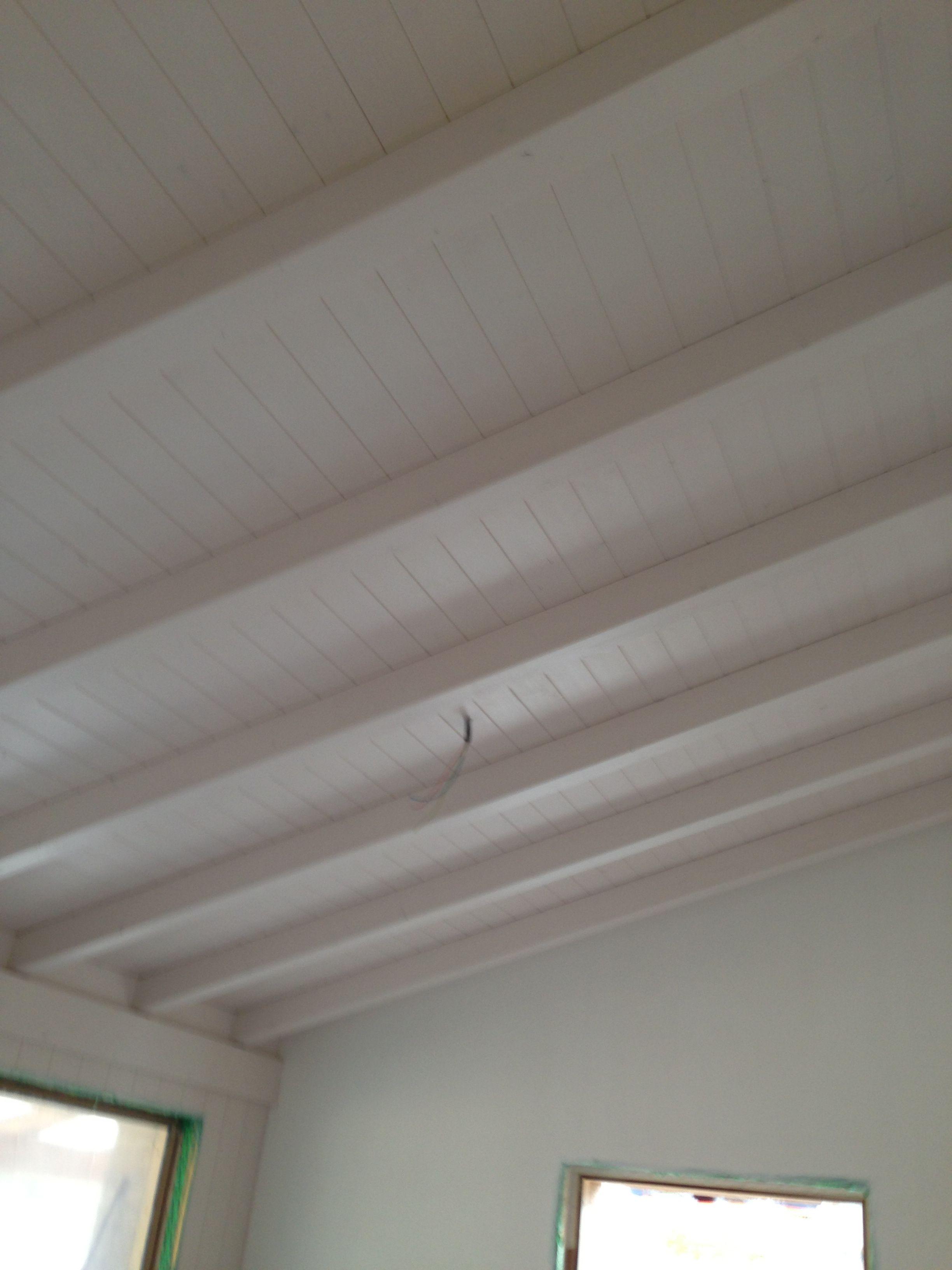 Casa in legno rubner con tetto bianco alaska rubner - Tetto in legno bianco ...