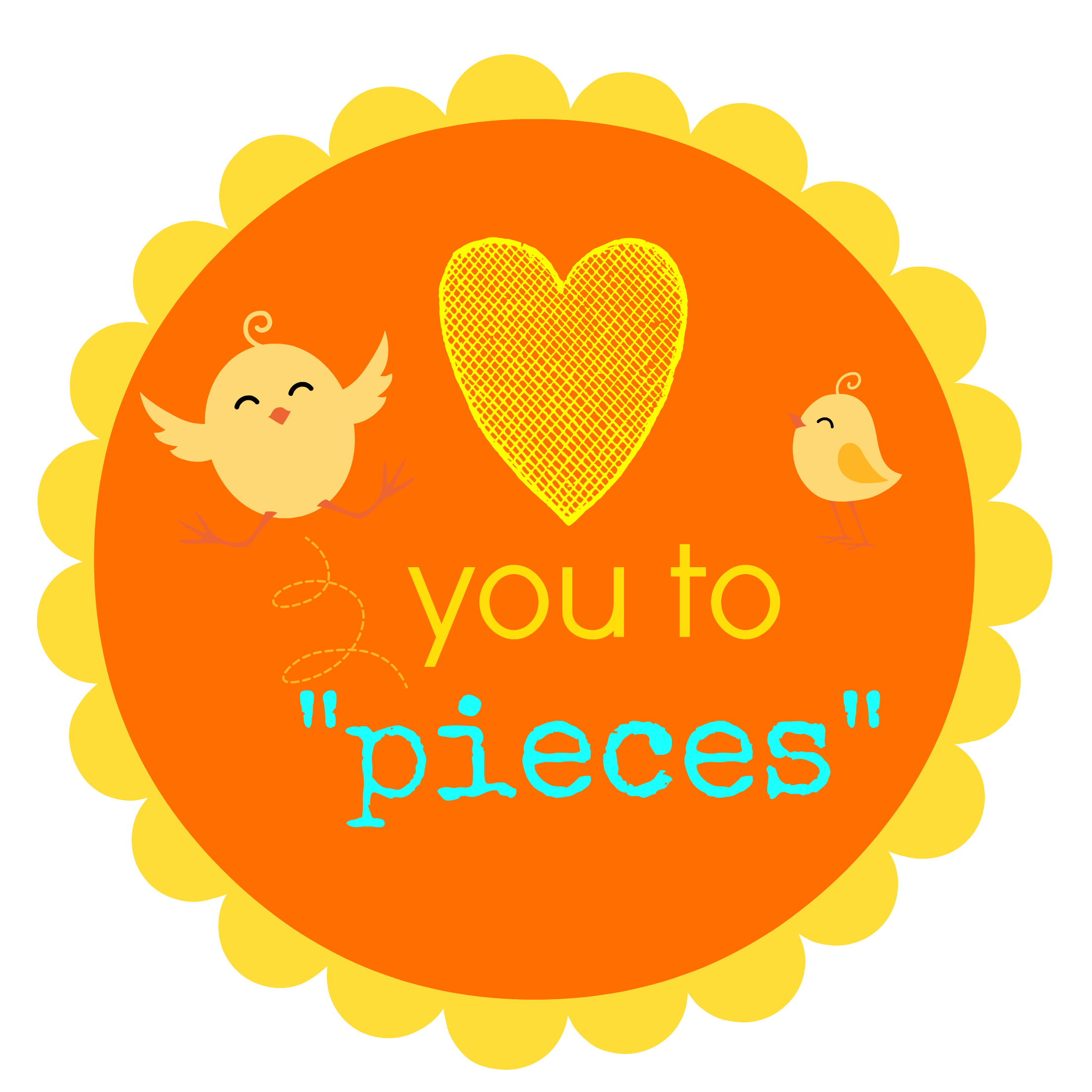 Reeses Pieces Love You To Pieces Printable Tag Teacher