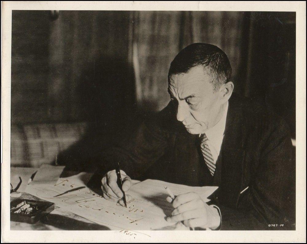 Rachmaninoff Composing 1935 Musique Musicien Compositeurs