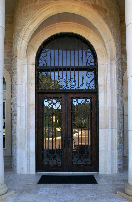 Cantera Doors provides hand-forged custom-made iron staircase \u0026 balcony railings for & Cantera Doors provides hand-forged custom-made iron staircase ...