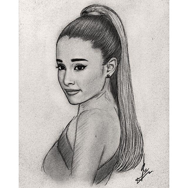 Ariana Grande Draws - Google U043fu0440u0435u0442u0440u0430u0433u0430 | Crtezi | Pinterest | Ariana Grande