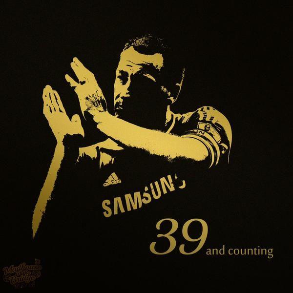 JOHN TERRY: 39 goals for CHELSEA
