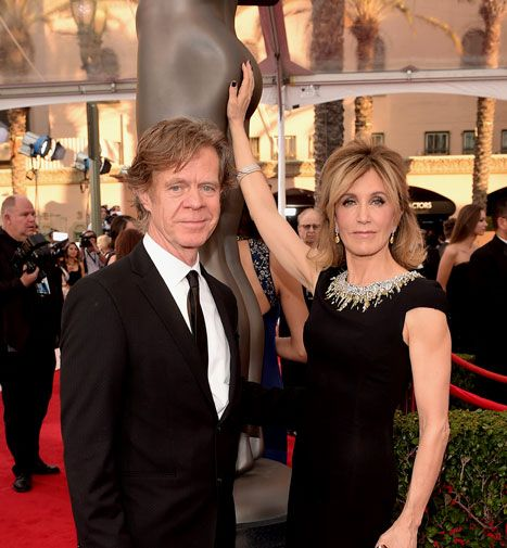 While winning a SAG award and walking the red carpet would be enough for most Hollywood couples, Macy and Huffman had other things on their minds: getting into bed together at the end of the night!