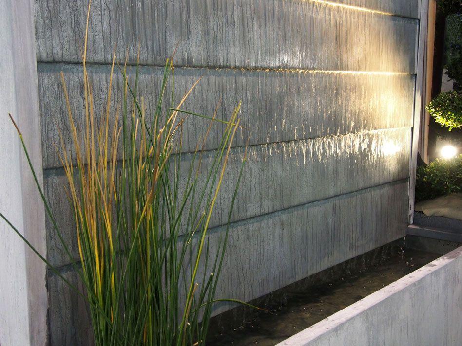 Fontaine de jardin / en zinc - BASSIN FONTAINE EN ZINC-TITANIUM ...