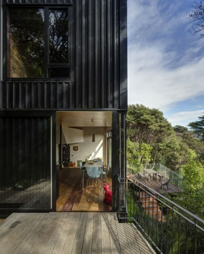 contemporary design house in blackpool new zealand architectural also rh pinterest