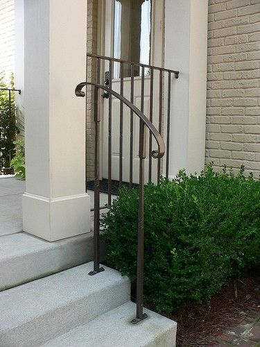 Best Exterior Handrail Exterior Handrail Porch Handrails Front Porch Steps 400 x 300