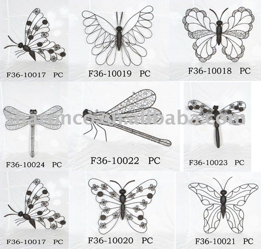 butterfly wire art | Art for my walls | Pinterest | Treffen, Draht ...