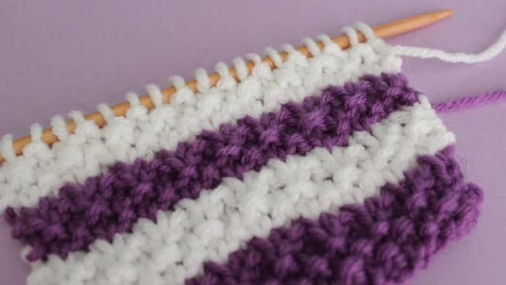 how to change colors in knitting pattern