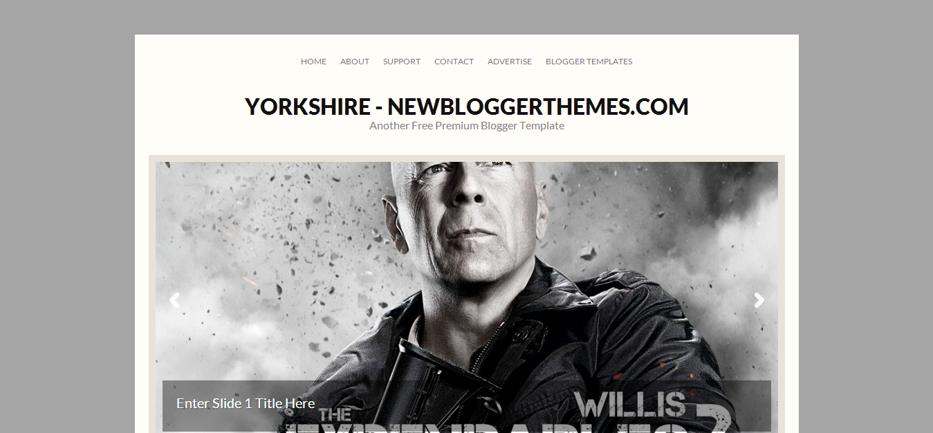 free Yorkshire Blogger Template | design / web | Pinterest ...
