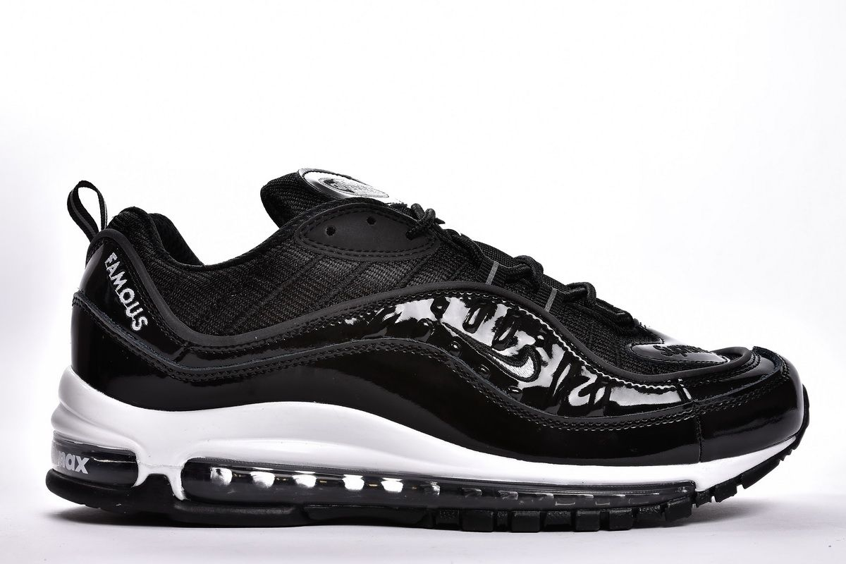 Supreme x Nike Air Max 98 Black White AQ0067 101 Shoes3