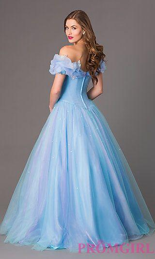 Image of Disney Cinderella Forever Enchanted Keepsake Gown Back Image