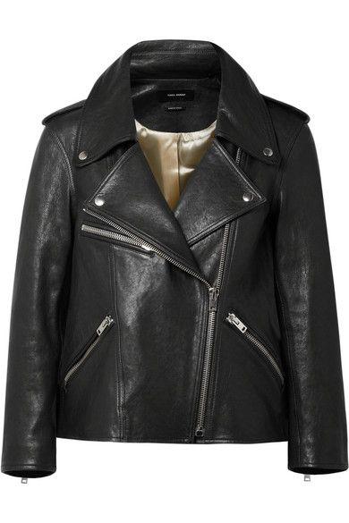 Isabel Marant Bowie Leather Biker Jacket Fashion Leather Jacket Faux Leather Jackets