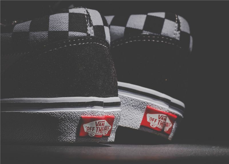 4cce2dc189 Black and white checkerboard two kinds of wear VANS for BILLY S  OLD SKOOL  BAND