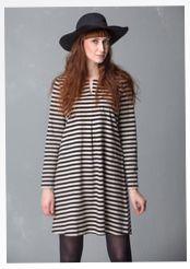 4f0db189b78850 Basic-Streifenkleid aus Öko-Baumwolle