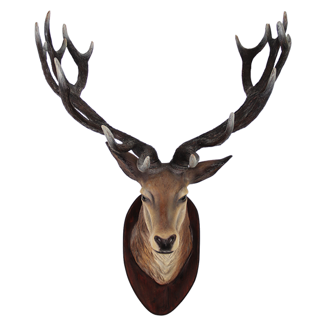 Deer Head Transparent Png Png Mart Deer Head Wall Mount Deer Heads Wall Deer Head