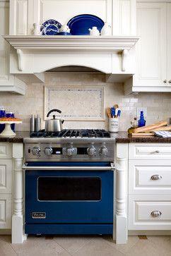 Cobalt Blue Viking Range Design Ideas Pictures Remodel And Decor Cobalt Blue Kitchens Interior Design Kitchen Kitchen Design