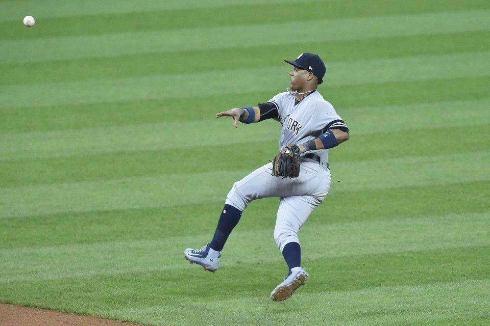 Alds Yankees Vs Indians Recap Score And Stats Game 2 Baseball Camp Baseball Scores Baseball Uniforms