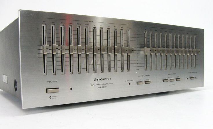 Pioneer Sg 9800 Stereo Equalizer Eq Pioneer Audio Stereo Best Home Theater System