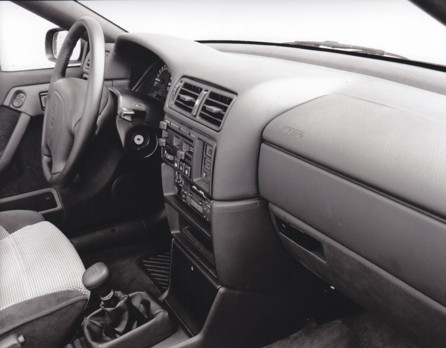 Opel Calibra Interieur Opel Calibra Interior With Full Size Airbags 9 93 Car