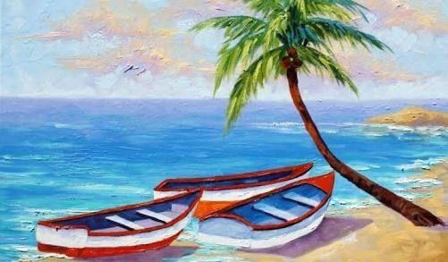 Resultado de imagen para easy beach landscapes to paint easylandscape
