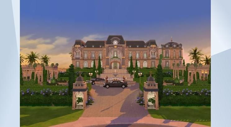 ☆ Celebrity Mansion ☆ | ❤My Sims 4 Finds❤ | Sims 4, Mansions, Sims