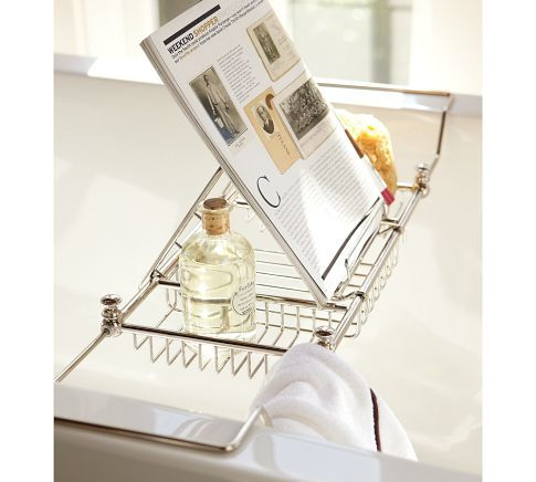 Mercer Bathtub Caddy Polished Nickel 59