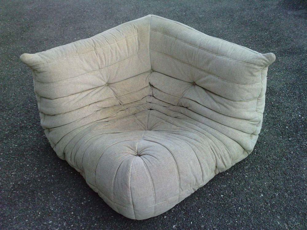 angle fauteuil canap togo design ducaroy edition ligne. Black Bedroom Furniture Sets. Home Design Ideas