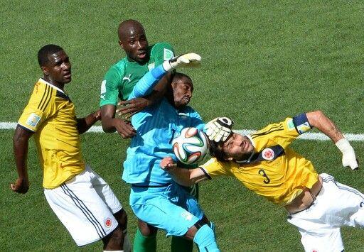 Colômbia x Costa do Marfim