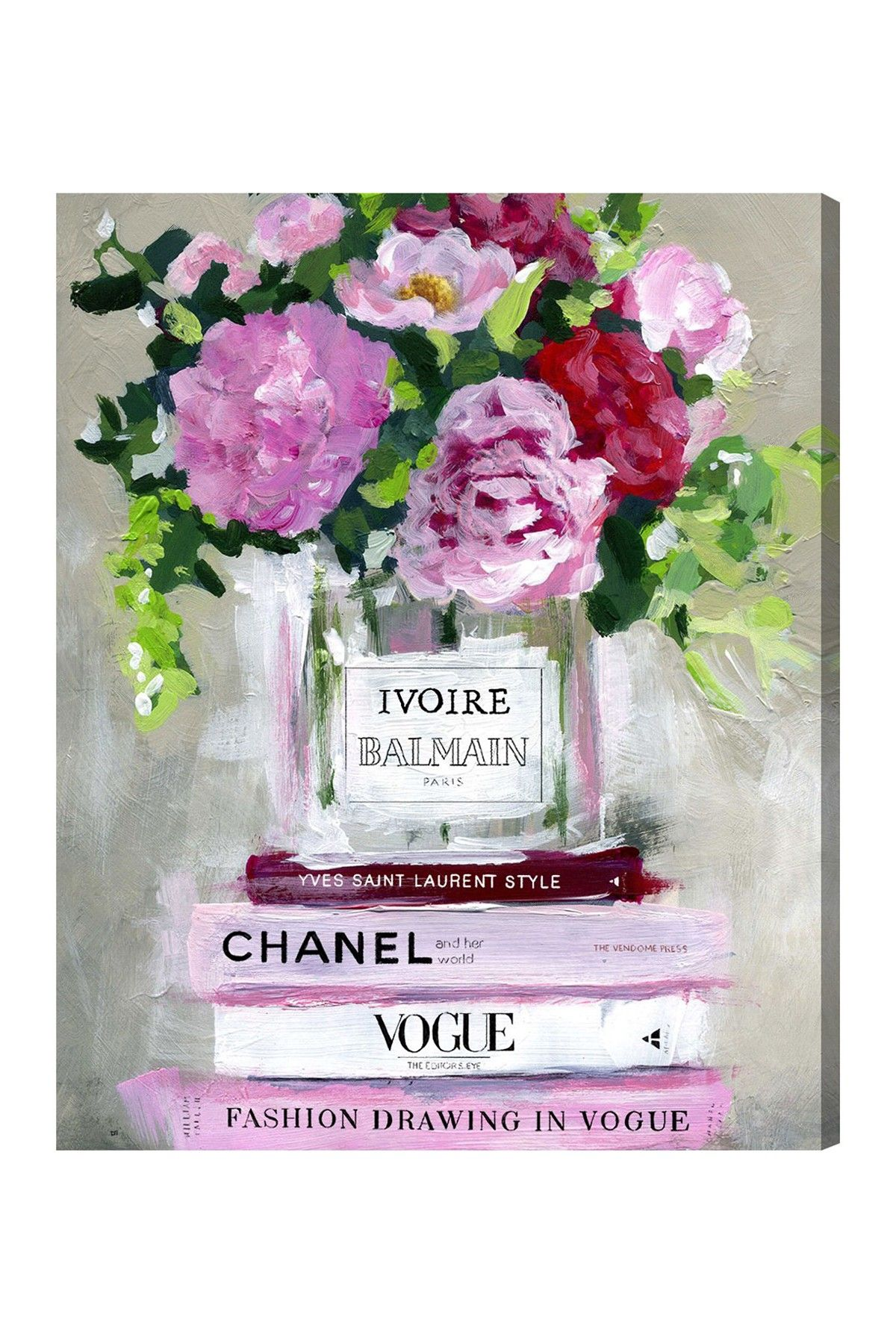 Florale V2 Canvas Art by Oliver Gal Gallery on @HauteLook