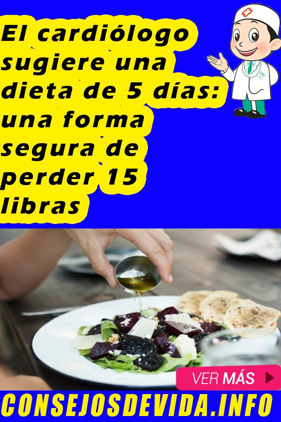 Dieta para perder 1 libra por dia