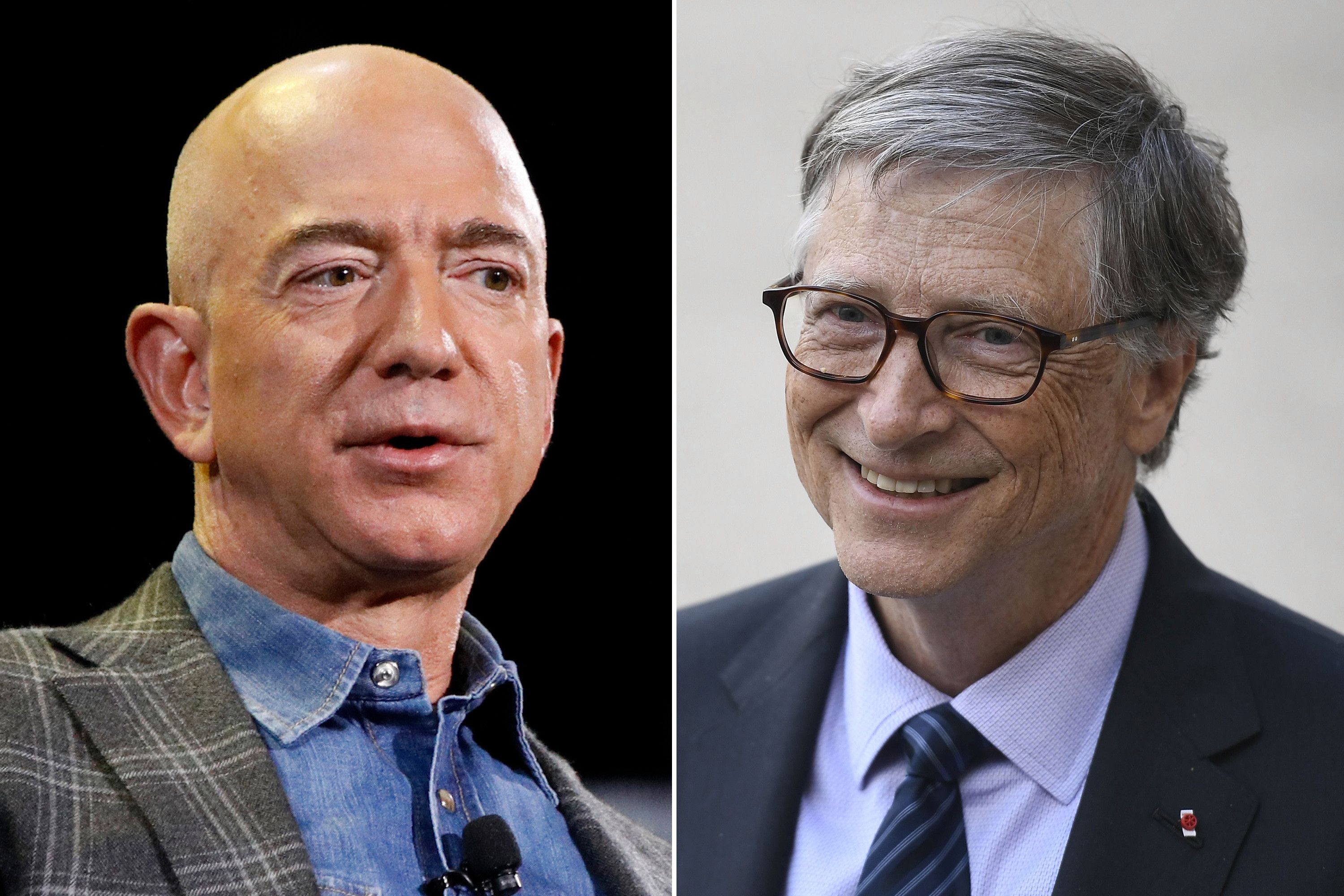 Bill Gates Overtakes Jeff Bezos As The Richest Person In The World At 110 Billion Amazon Owner Jeff Bezos Richest In The World