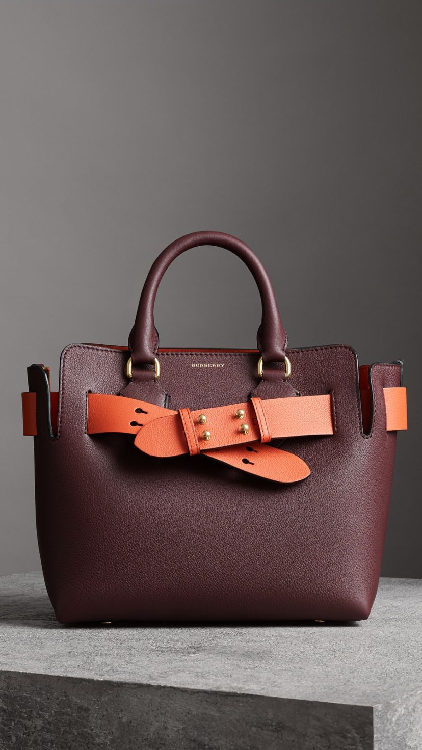 5a0cef8d18b1 The Small Leather Belt Bag in Deep Claret - Women in 2019