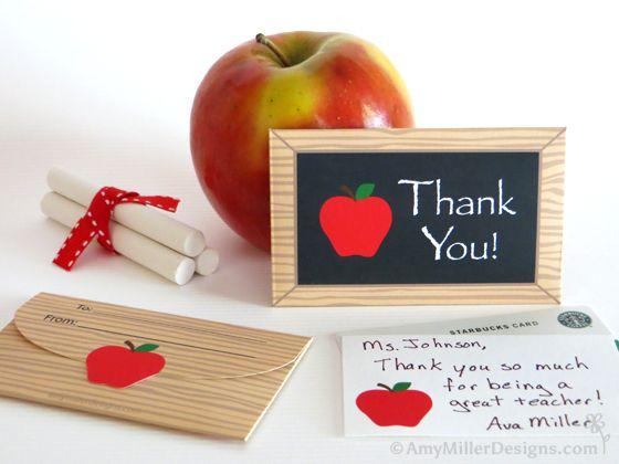 Free Teacher Appreciation Day Printable   Appreciation gifts, Note ...