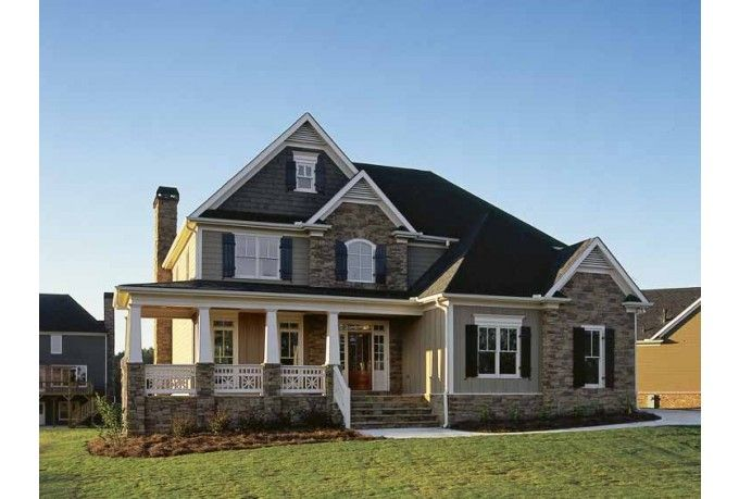 Eplans Country House Plan Country Curb Appeal 2443 Square Feet And 4 Bedrooms S From Eplans House Plan Code Hwepl1 Casas Casas Victorianas Casas Bonitas