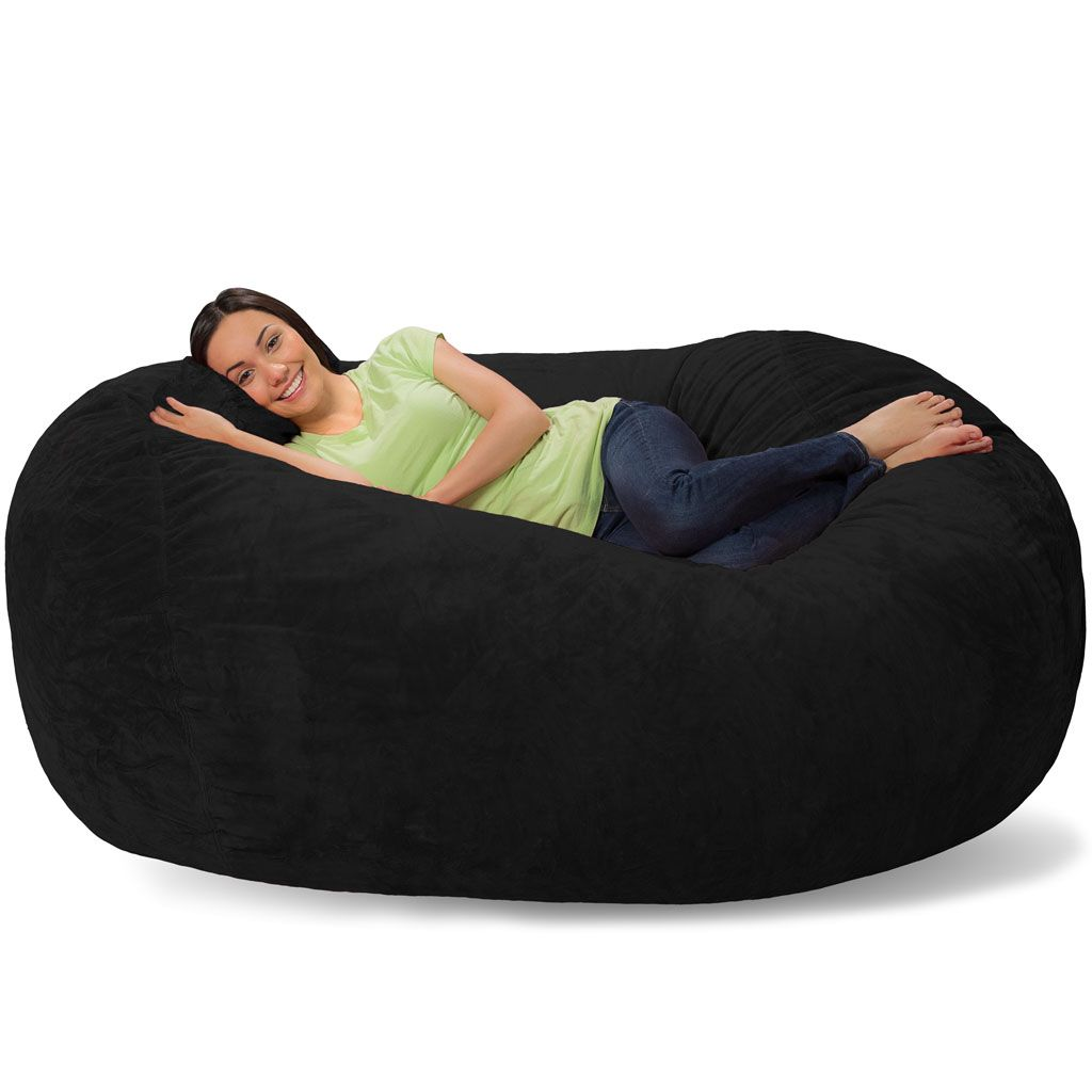 6 foot bean bag chair design book pdf lounger couch new apt furniture