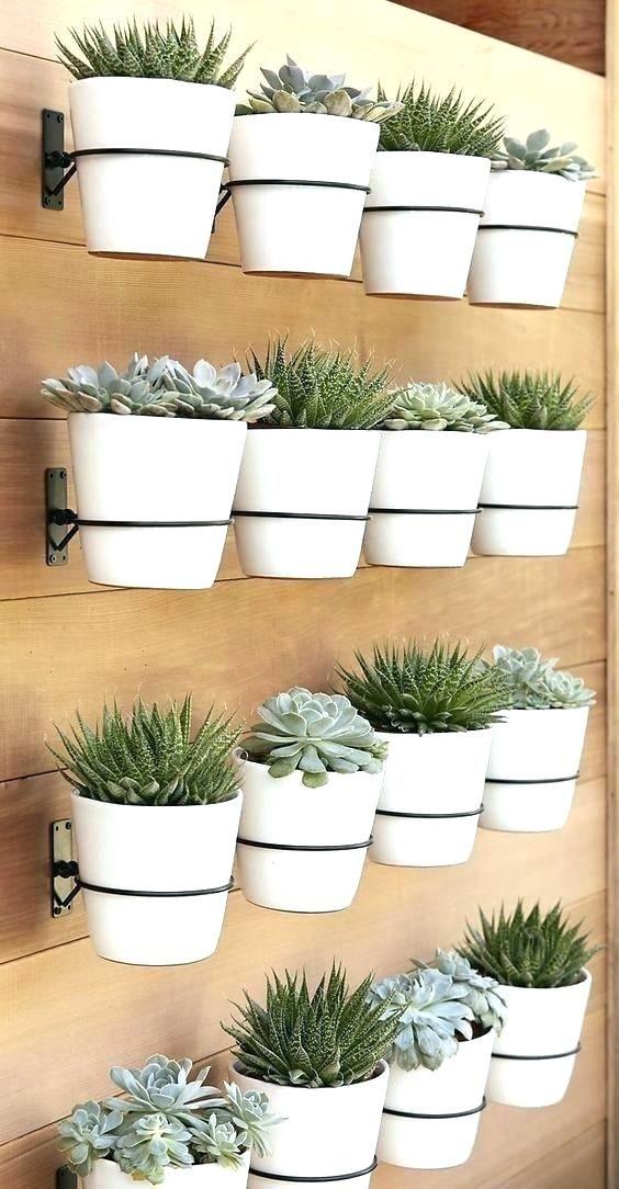 outdoor wall planter outdoor wall planter multi pot wood on indoor herb garden diy apartments living walls id=87726