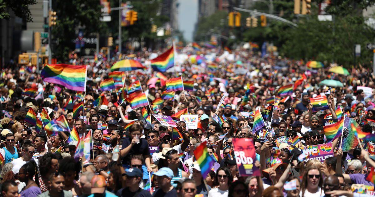 Massive Parades Celebrate 5 Decades Of Lgbtq Pride Lgbtq Pride Chicago Pride Parade Lgbtq