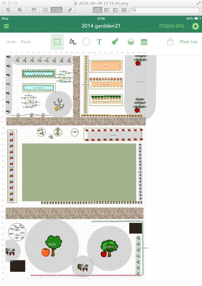 Out today a plan with the Garden Plan Pro app, with newly ...
