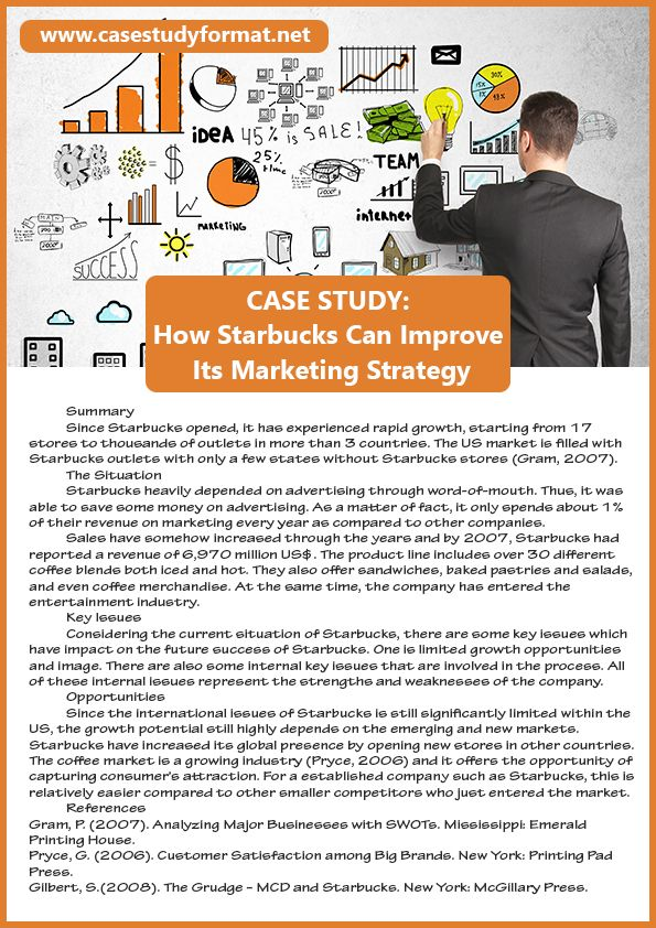 Marketing Case Study  Case Study Examples    Marketing