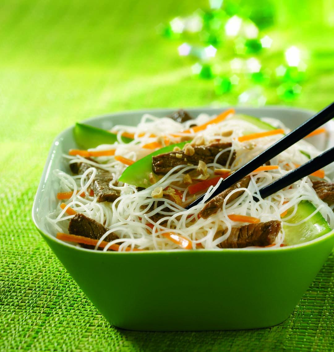 Bobun Au Boeuf Recette Vermicelles Cuisine Asiatique Recettes De Cuisine