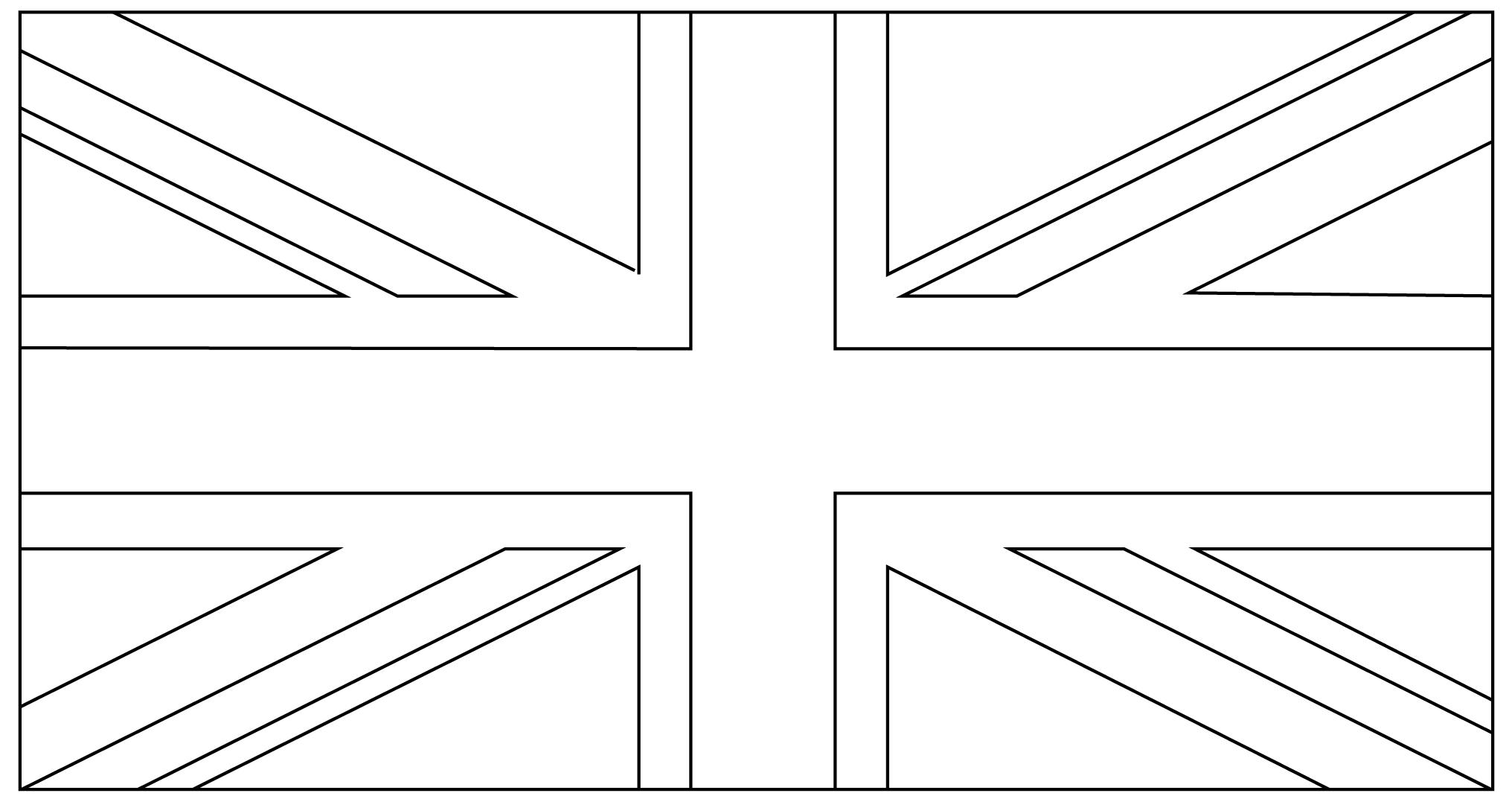 Folding union flag | flag template, thinking day girlguiding.