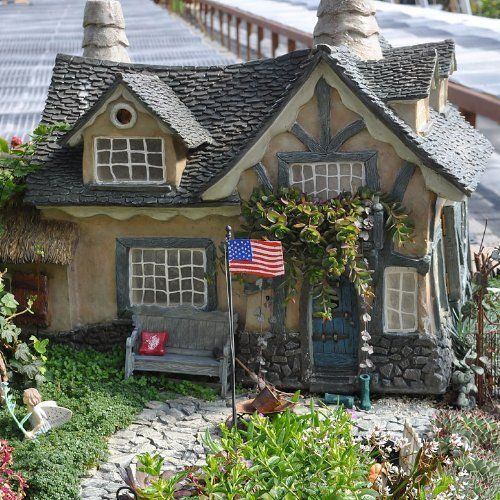 Miniature Fairy Garden The Underfoot Cottage By Cottages And Doors,  Http://www
