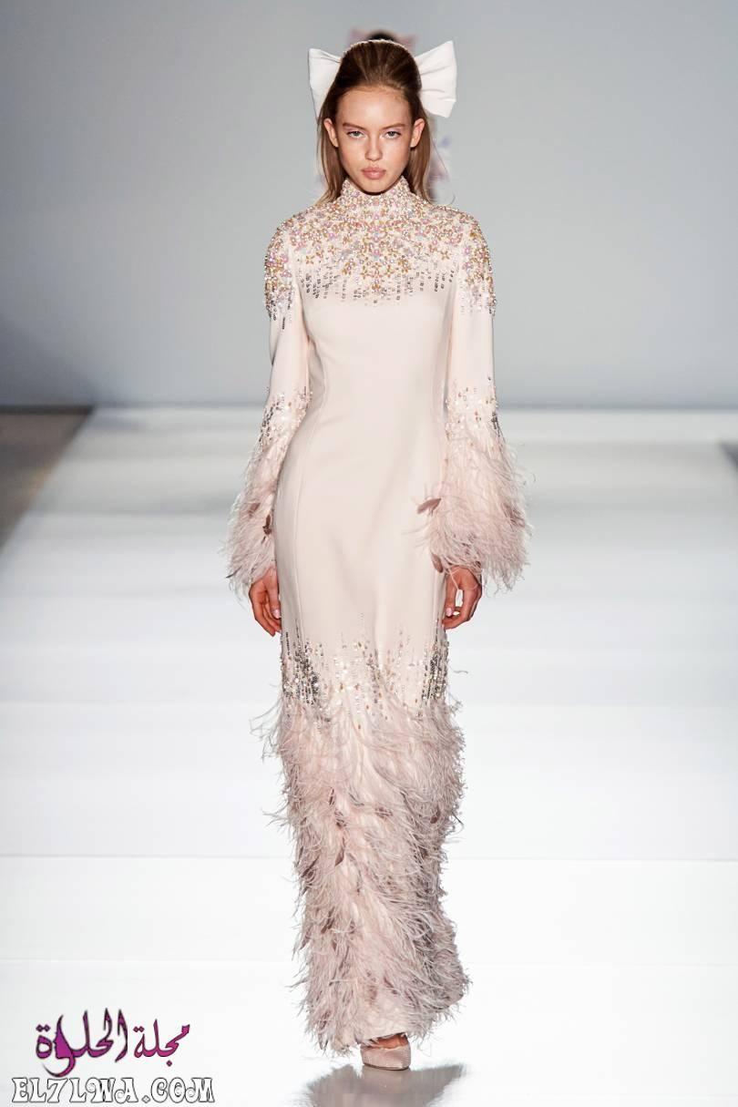 فساتين سواريه بسيطه وشيك للمحجبات موضة 2021 جمعنا لكم من خلال خبراء الأزياء في مجلة الحلوة مجموعة من افضل فساتين السواري In 2020 Couture Fashion Couture Gowns Fashion