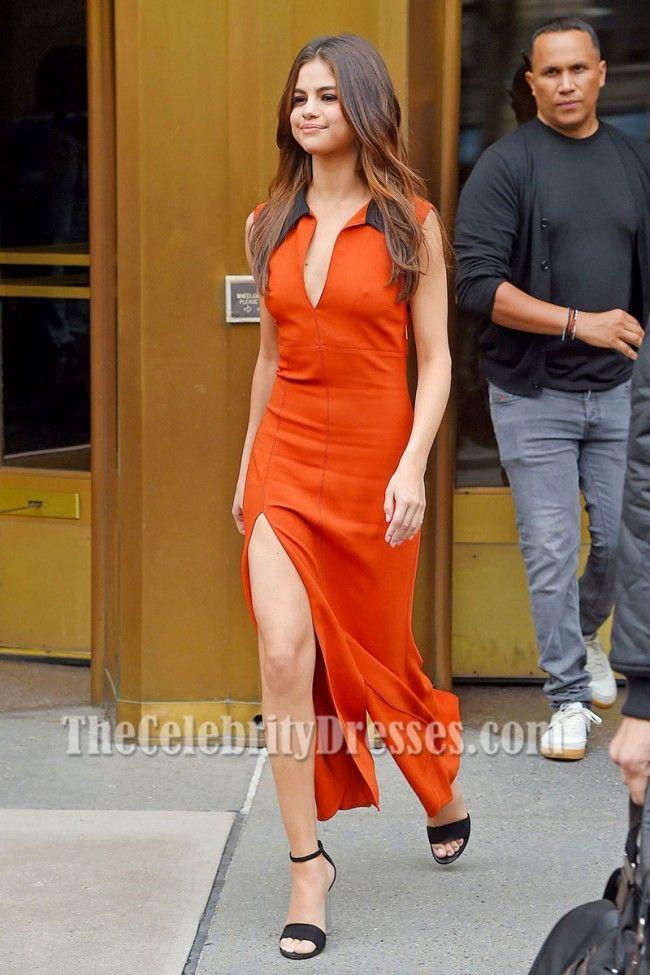 Selena gomez sexy prom dresses