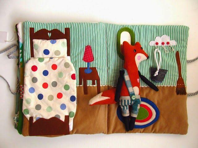 Beautiful handmade children's book by Agatownik
