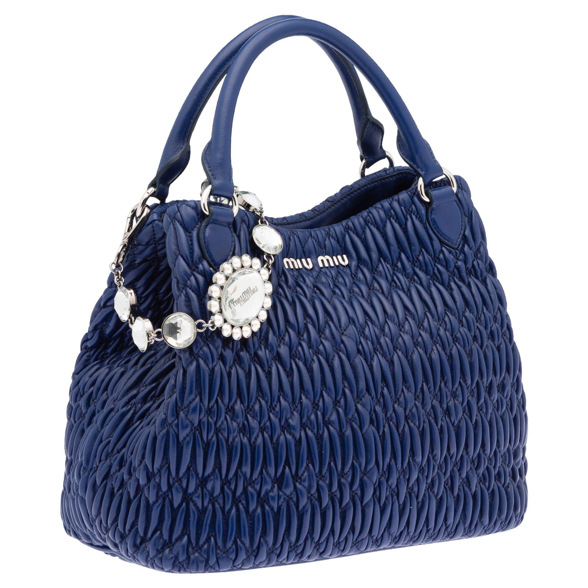 be23cd8e978 Zoom-bootstrap   Blue purses   bags   Pinterest   Miu miu, Blue ...