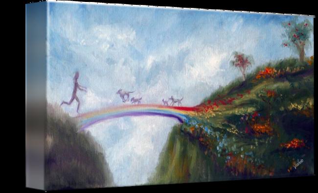 The Rainbow Bridge With Images Rainbow Bridge Stairs To