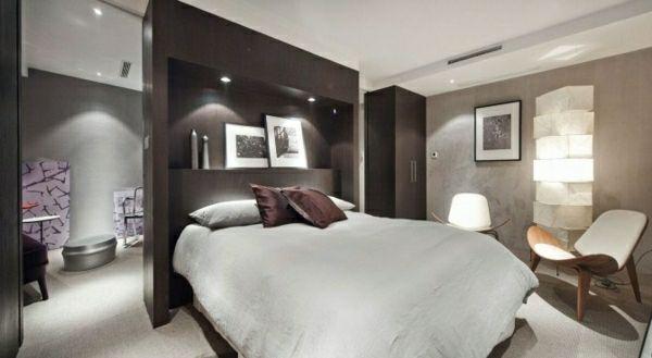 feng shui schlafzimmer einrichten bett kleiderschrank kopfende ... - Feng Shui Schlafzimmer Bett